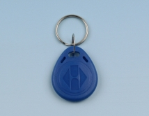 Key fob EM4102, plastic with key ring
